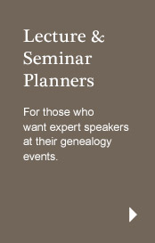 Lecture & Seminar Planners