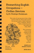 Researching English Occupations - Civilian Services