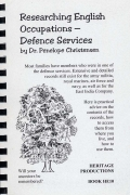 Researching English Occupations - Defense Services