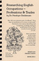 Researching English Occupations - Professions and Trades